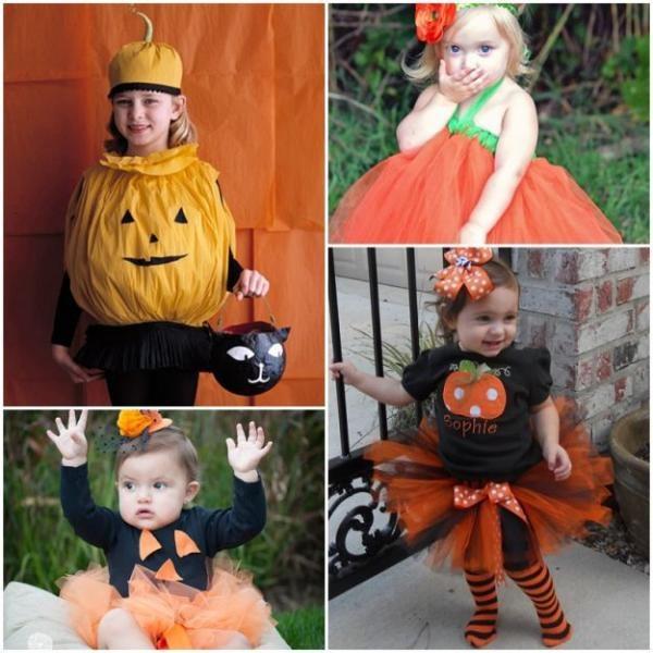 Детские костюмы на хэллоуин быстро своими руками